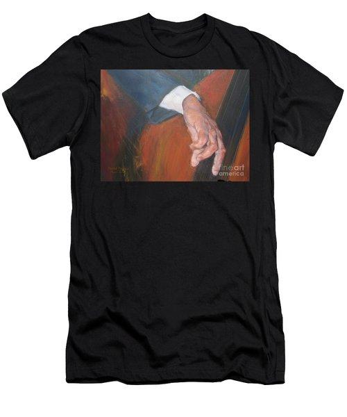 Blaa Kattproduksjoner          Hands Of Deep Sound Men's T-Shirt (Athletic Fit)