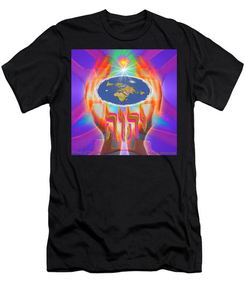 Hands Of Creation Men's T-Shirt (Athletic Fit)