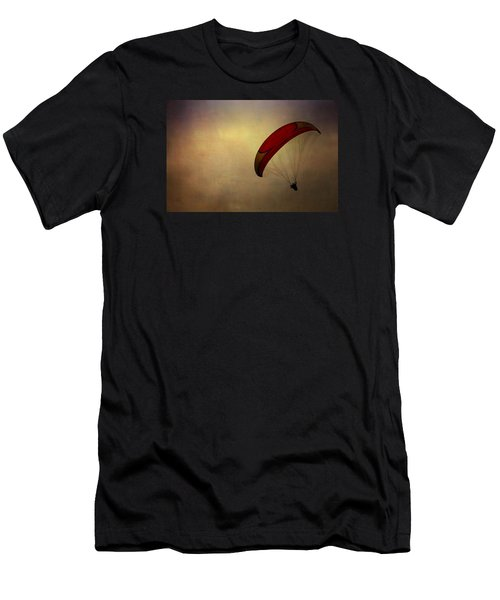 Hang Gliding In Peru Men's T-Shirt (Athletic Fit)