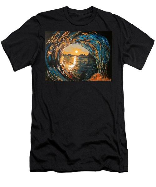 Hang Ten In Tofino Men's T-Shirt (Athletic Fit)