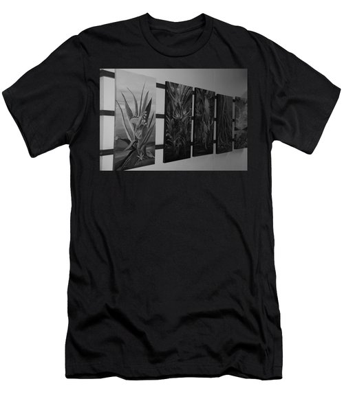 Men's T-Shirt (Slim Fit) featuring the photograph Hanging Art by Rob Hans