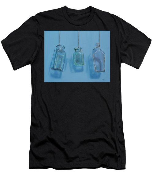 Hanging Bottles Men's T-Shirt (Athletic Fit)