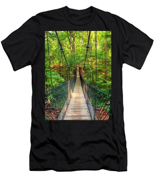 Hanging Bridge Men's T-Shirt (Athletic Fit)