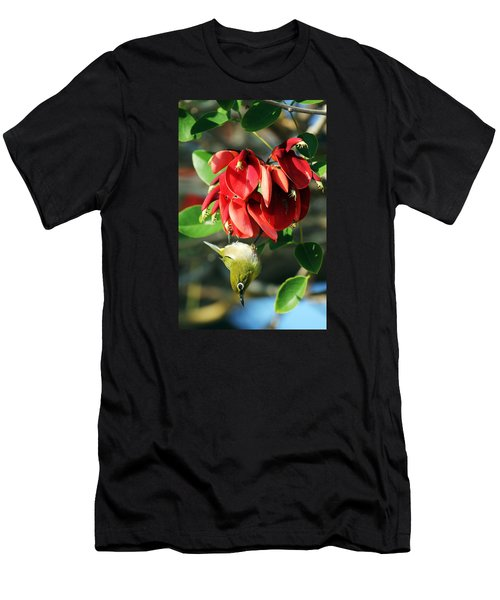 Hanging Japanese Men's T-Shirt (Athletic Fit)