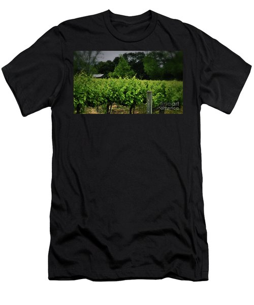 Hanging Out In The Vineyards Men's T-Shirt (Athletic Fit)