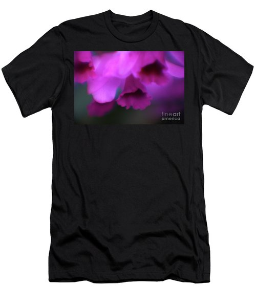 Hanging Purple Tropical Flowers Up Close- Kauai- Hawaii Men's T-Shirt (Athletic Fit)