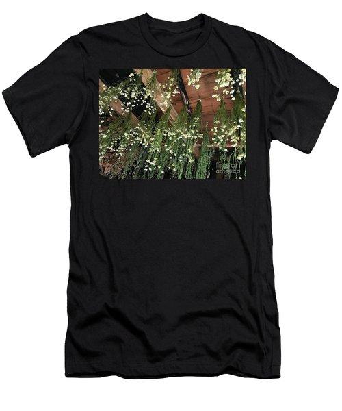 Hanging Upside Down Men's T-Shirt (Athletic Fit)