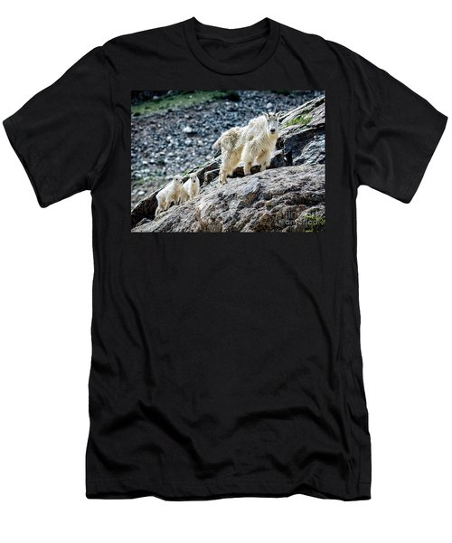 Hanging With The Kids Men's T-Shirt (Athletic Fit)