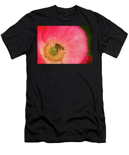 Happy Bee Men's T-Shirt (Athletic Fit)