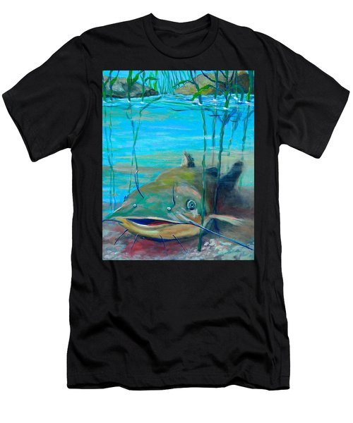 Happy Catfish Men's T-Shirt (Athletic Fit)