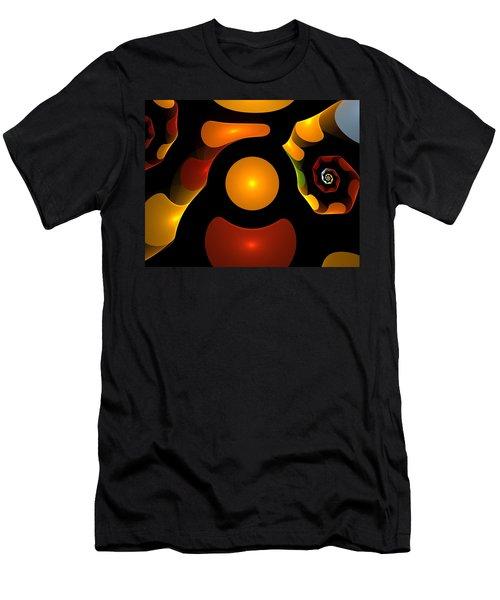 Happy Digit Men's T-Shirt (Athletic Fit)