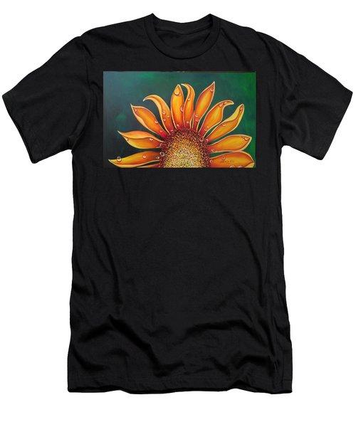 Happy Flower Men's T-Shirt (Athletic Fit)