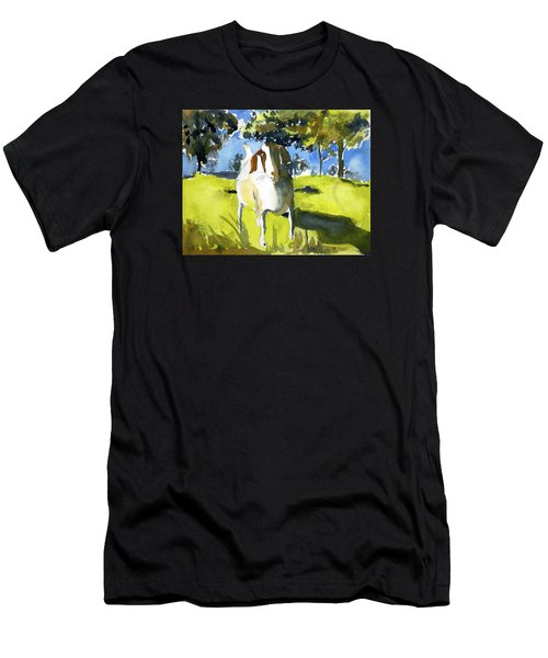 Happy Goat Men's T-Shirt (Athletic Fit)