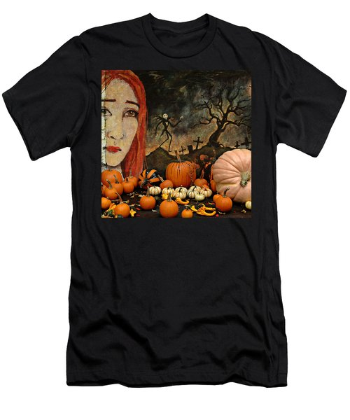 Happy Halloween Men's T-Shirt (Slim Fit)