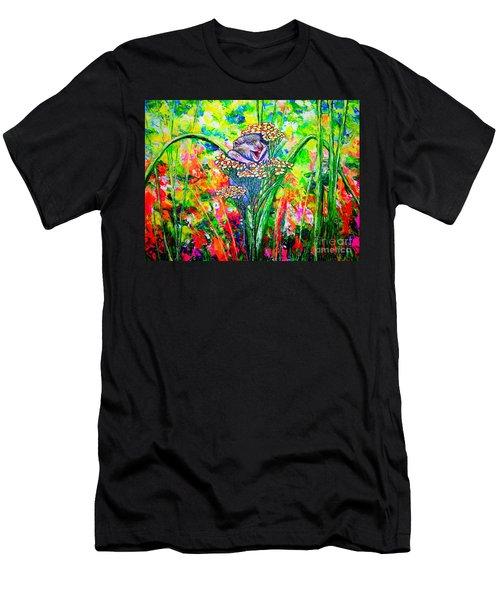 Happy Hamster Men's T-Shirt (Athletic Fit)