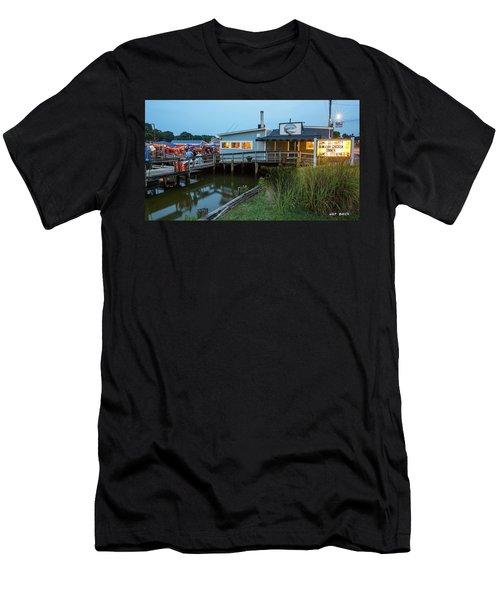Happy Harbor Men's T-Shirt (Athletic Fit)
