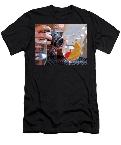 Happy Hour @ Mpbts Men's T-Shirt (Athletic Fit)