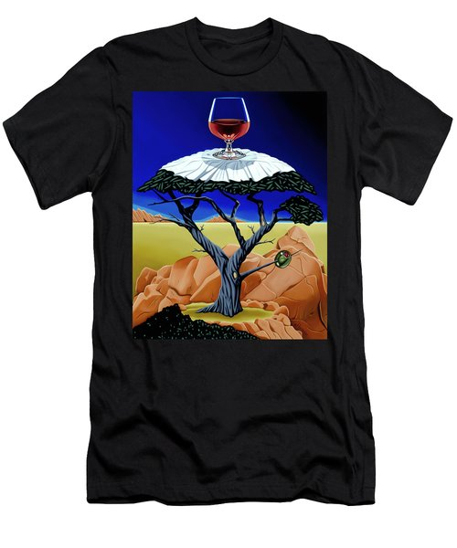 Happy Hour At The Midreal Cypress Men's T-Shirt (Athletic Fit)