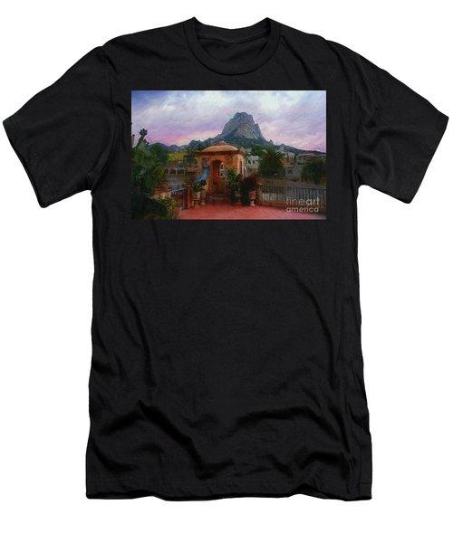 Happy Hour Men's T-Shirt (Slim Fit) by John Kolenberg