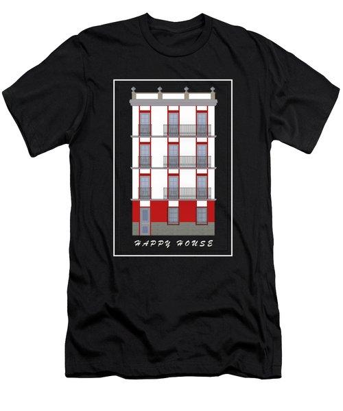 Happy House Men's T-Shirt (Athletic Fit)