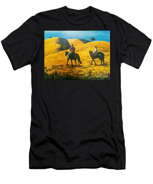 Happy Memories Men's T-Shirt (Athletic Fit)