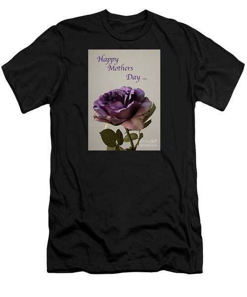 Happy Mothers Day No. 2 Men's T-Shirt (Slim Fit) by Sherry Hallemeier