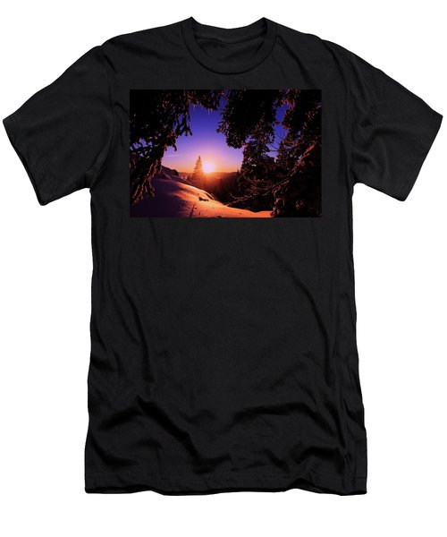 Men's T-Shirt (Athletic Fit) featuring the photograph Happy New Year  by Sean Sarsfield