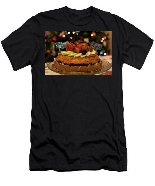 Happy New Year Men's T-Shirt (Slim Fit) by Ivete Basso Photography