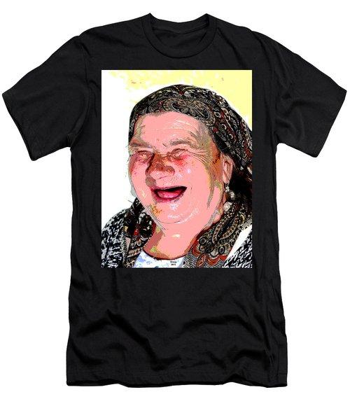 Babcia Men's T-Shirt (Athletic Fit)