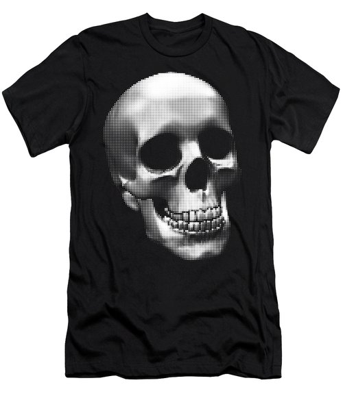 Happy Skull Men's T-Shirt (Athletic Fit)