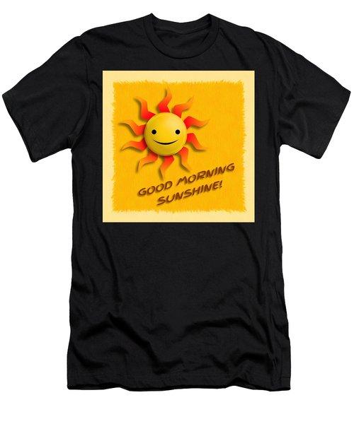 Happy Sun Face Men's T-Shirt (Athletic Fit)
