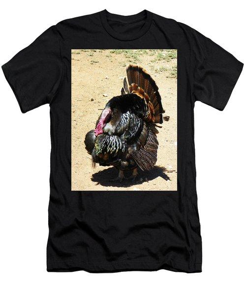 Happy Thanksgiving Men's T-Shirt (Athletic Fit)