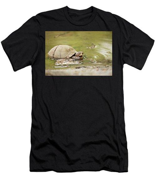 Happy Turtle Men's T-Shirt (Athletic Fit)