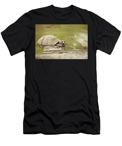 Happy Turtle Men's T-Shirt (Athletic Fit)