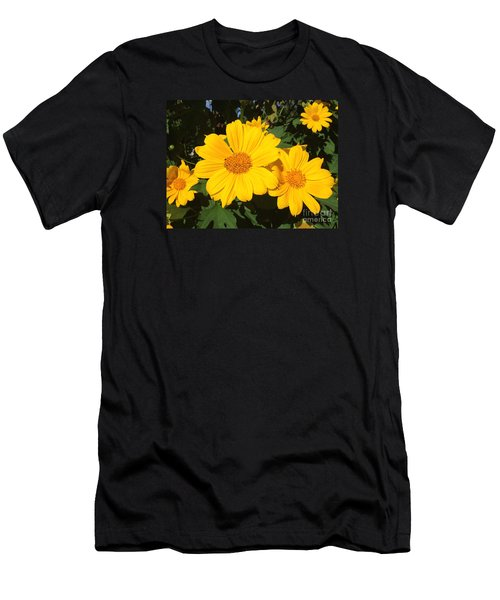 Happy Yellow Men's T-Shirt (Athletic Fit)
