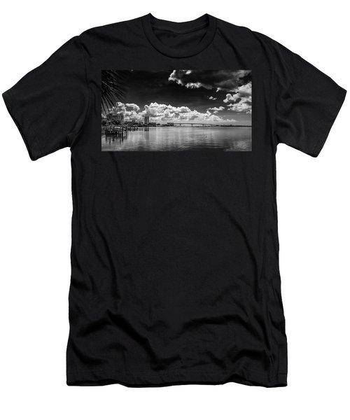 Harbor Bluffs Men's T-Shirt (Athletic Fit)