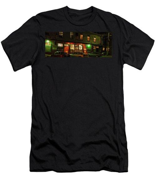 Harbor Fish Market Men's T-Shirt (Athletic Fit)