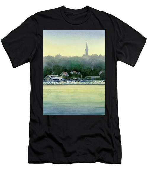 Harbor Master, Port Washington Men's T-Shirt (Athletic Fit)