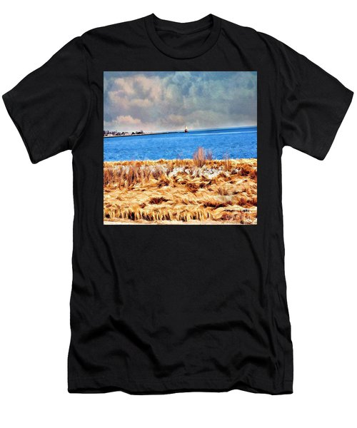 Harbor Of Tranquility Men's T-Shirt (Athletic Fit)