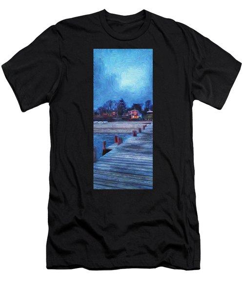 Harbormasters Office Owen Park Men's T-Shirt (Athletic Fit)