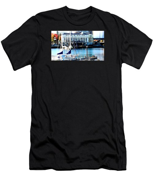 Harbour Sail Men's T-Shirt (Athletic Fit)