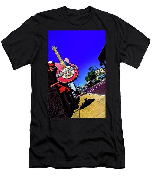 Hard Rockin On Beale Men's T-Shirt (Athletic Fit)