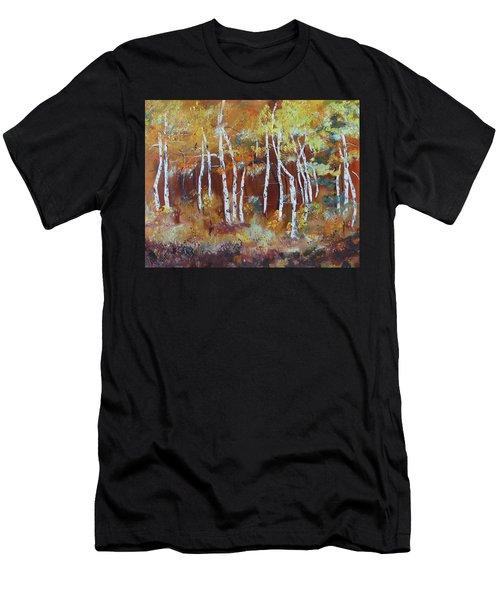 Harding Way  Aspens Dancing Men's T-Shirt (Athletic Fit)