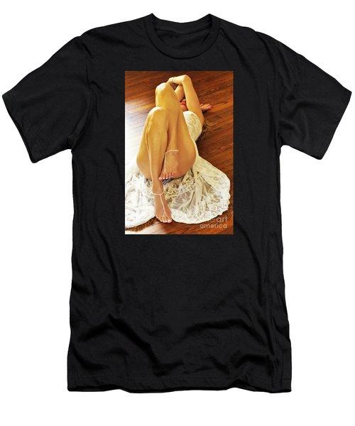 Hardwood Men's T-Shirt (Athletic Fit)