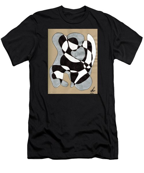 Harlequin Abtracted Men's T-Shirt (Athletic Fit)