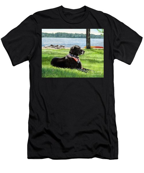 Harley At The Beach Men's T-Shirt (Athletic Fit)