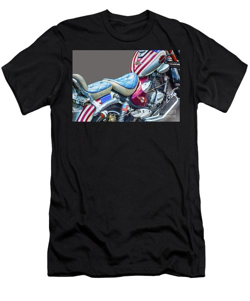 Men's T-Shirt (Slim Fit) featuring the photograph Harley by Charuhas Images