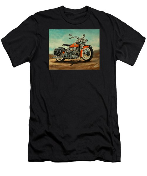 Harley Davidson 1956 Flh Men's T-Shirt (Athletic Fit)