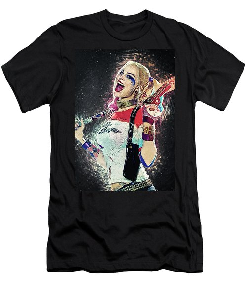 Harley Quinn Men's T-Shirt (Athletic Fit)
