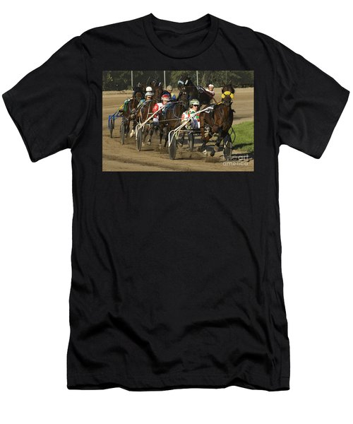 Harness Racing 9 Men's T-Shirt (Athletic Fit)